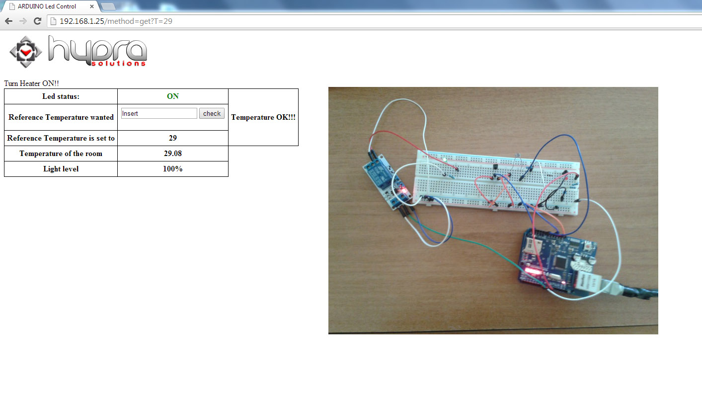 arduino air conditioner same temperature