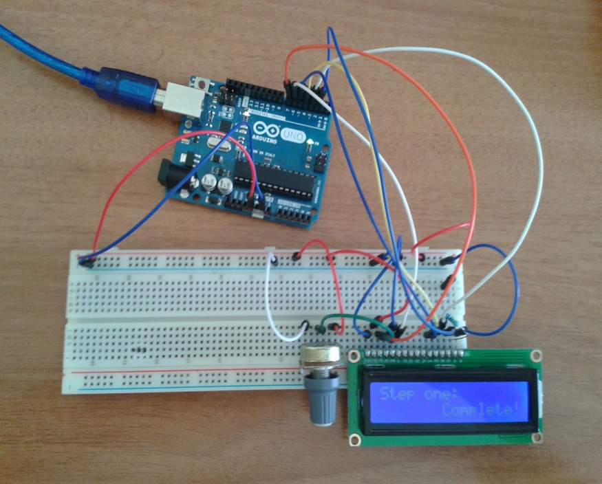 arduino display connections