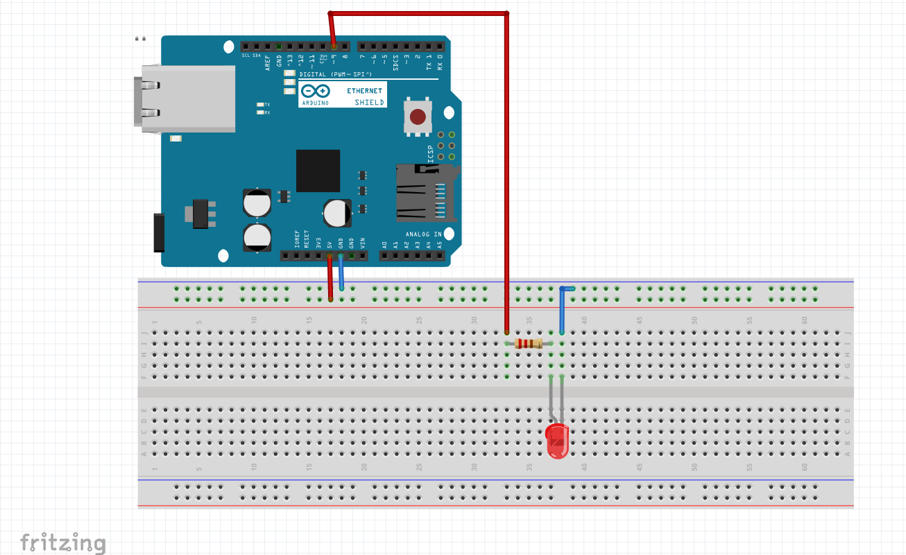 arduino led control sketch